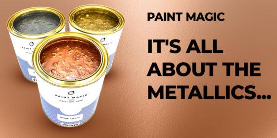 Metallic Paint - Paint Magic - London